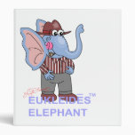 Carpeta divertida del elefante de TM del elefante