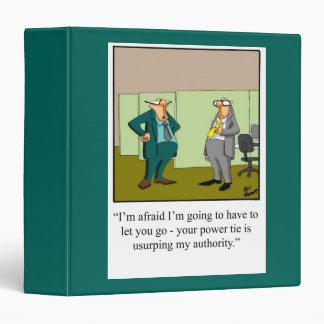 Carpeta divertida para el profesional del negocio