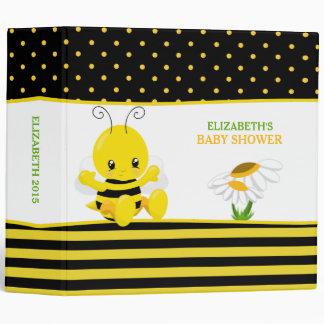 Carpeta dulce del álbum de foto de la abeja del