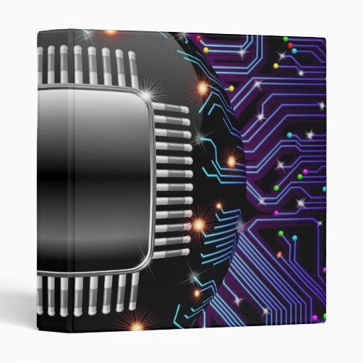 Carpeta electrónica del circuito de la placa madre