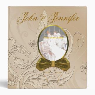 Carpeta elegante del álbum de foto del boda