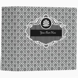 Carpeta elegante del damasco