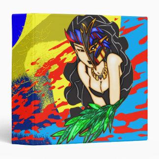 Carpeta enmascarada de Avery de la mujer