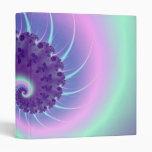 Carpeta espiral del fractal de la onda