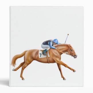 Carpeta excelente del caballo de raza