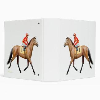 Carpeta excelente del caballo de raza de la bahía