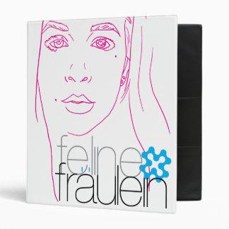 carpeta felina del retrato del fräulein
