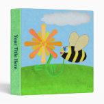 Carpeta feliz de la abeja
