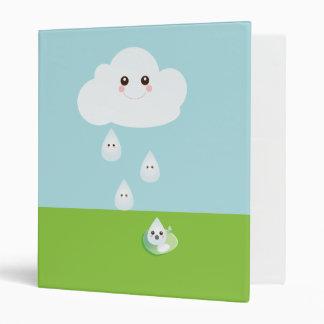 Carpeta feliz de la nube