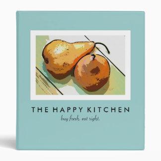 """Carpeta feliz de la pera de la cocina (1"""" carpeta)"""