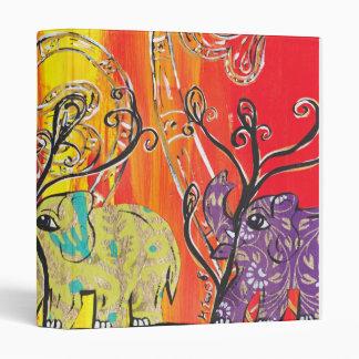 Carpeta feliz del desfile del elefante
