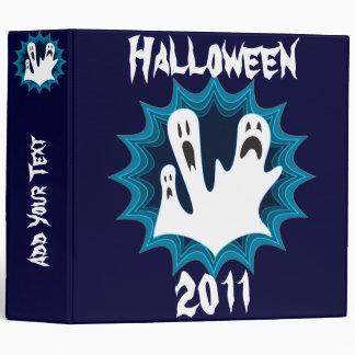 Carpeta festiva de los fantasmas de Halloween