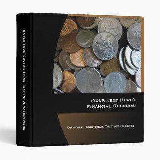 Carpeta financiera personalizada de los