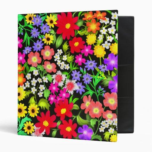 Carpeta floral colorida del jardín