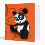 Carpeta floral de Avery de la panda