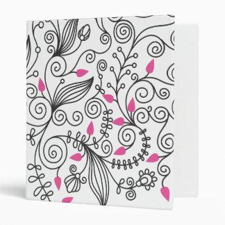 Carpeta floral de HTC de los remolinos