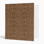 Carpeta floral del damasco del vintage