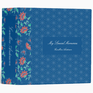Carpeta floral del modelo del batik de Aiyana