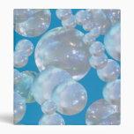 Carpeta flotante de las burbujas