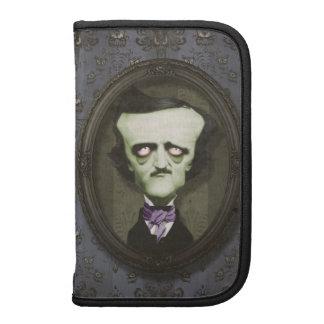Carpeta frecuentada de Edgar Alan Poe del zombi Planificador