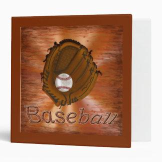 Carpeta fresca de la tarjeta de béisbol del GRUNGE