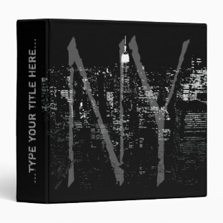 Carpeta fresca del libro de Nueva York de la carpe