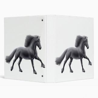 Carpeta frisia orgullosa de Avery del caballo