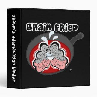 Carpeta frita cerebro