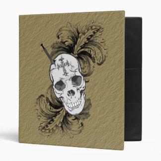 Carpeta gótica del cráneo