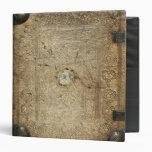 Carpeta gótica equipada vintage de la impresión de