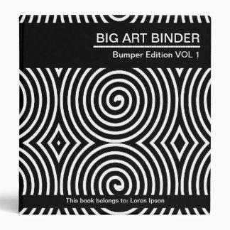 Carpeta grande 08 (los 1.5in) del arte
