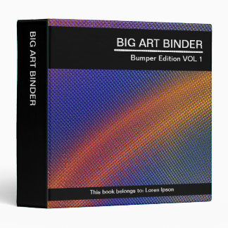 Carpeta grande del arte (los 1.5in)