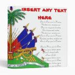 Carpeta haitiana del himno nacional