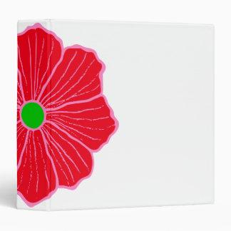 Carpeta hawaiana de la flor