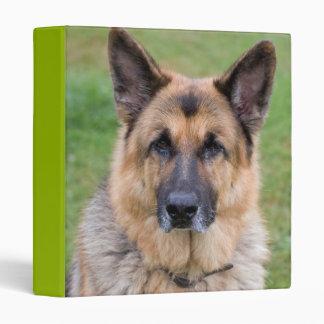 Carpeta hermosa del álbum de foto del perro de