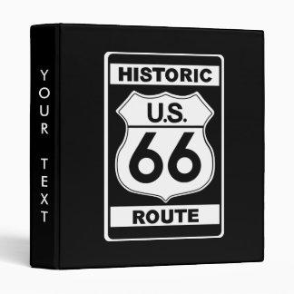 Carpeta histórica de la ruta 66