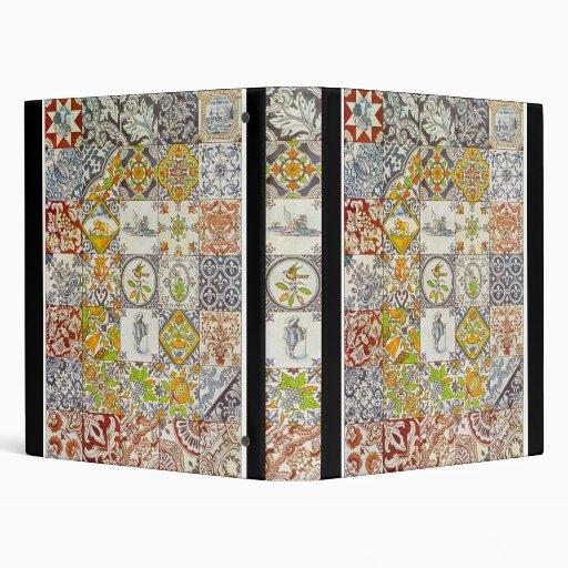 Carpeta holandesa de las baldosas cerámicas