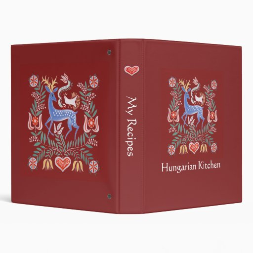 Carpeta húngara de la cocina, mi ciervo