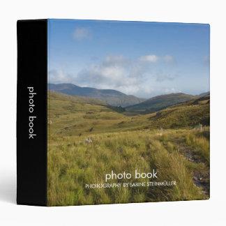 Carpeta irlandesa del libro de la foto de las
