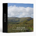 Carpeta irlandesa del libro de la foto del paisaje