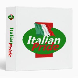 Carpeta italiana de Avery del orgullo