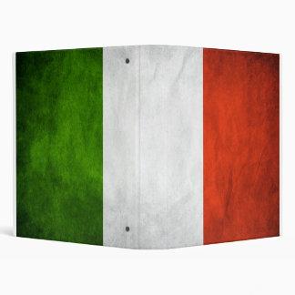Carpeta italiana de la bandera