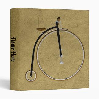Carpeta la alta bicicleta de la rueda