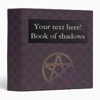 Carpeta/libro adaptables de sombras