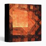 Carpeta ligera del arte abstracto de la ventana