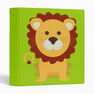 Carpeta linda de Avery del león