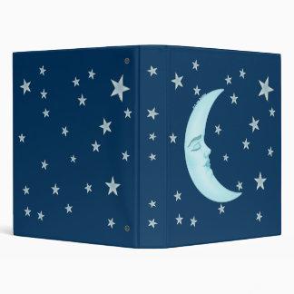 Carpeta linda de la luna el dormir