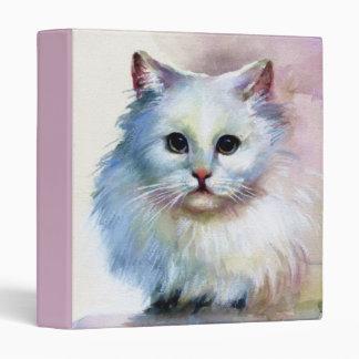 Carpeta linda del gato