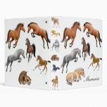Carpeta loca de Avery del caballo
