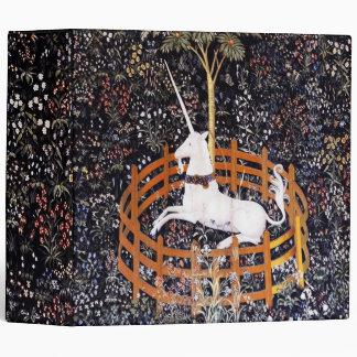 Carpeta los 2in de la tapicería #7 del unicornio
